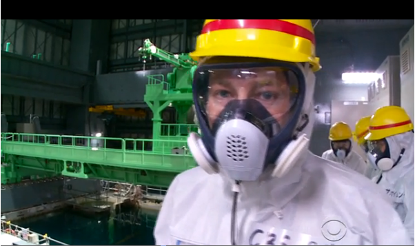 CBS News Covers Ongoing Fukushima Disaster