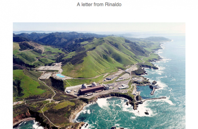 Rinaldo's Letter to Supporters