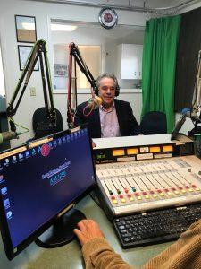 Rinaldo at KZSB Studios