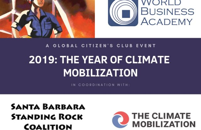 Global Citizens Club Meeting Feb. 19 to Focus on Climate Change Grassroots Action