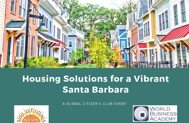 Housing Solutions for a Vibrant Santa Barbara