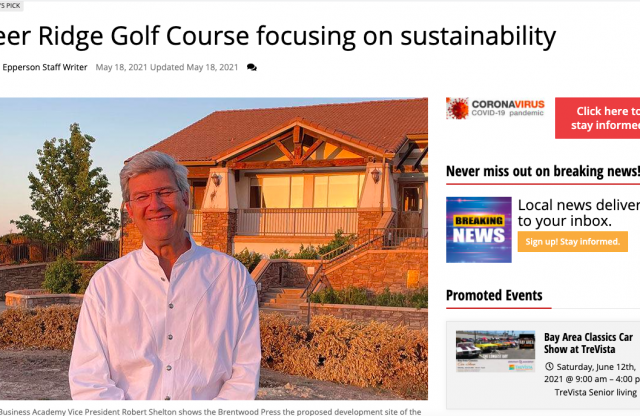 In the News: Deer Ridge Golf Course focusing on sustainability
